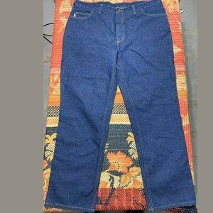 Carhartt Flame Resistant Denim Jeans Pants 40x32